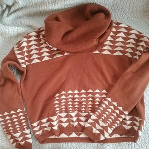 Indie crop top sweater